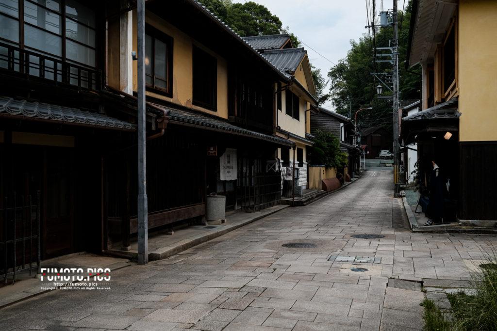 大洲市の古い街並み