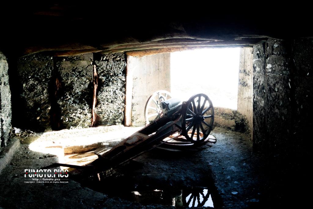 佐田岬の砲台跡
