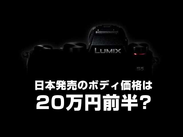 LUMIX S5見出し