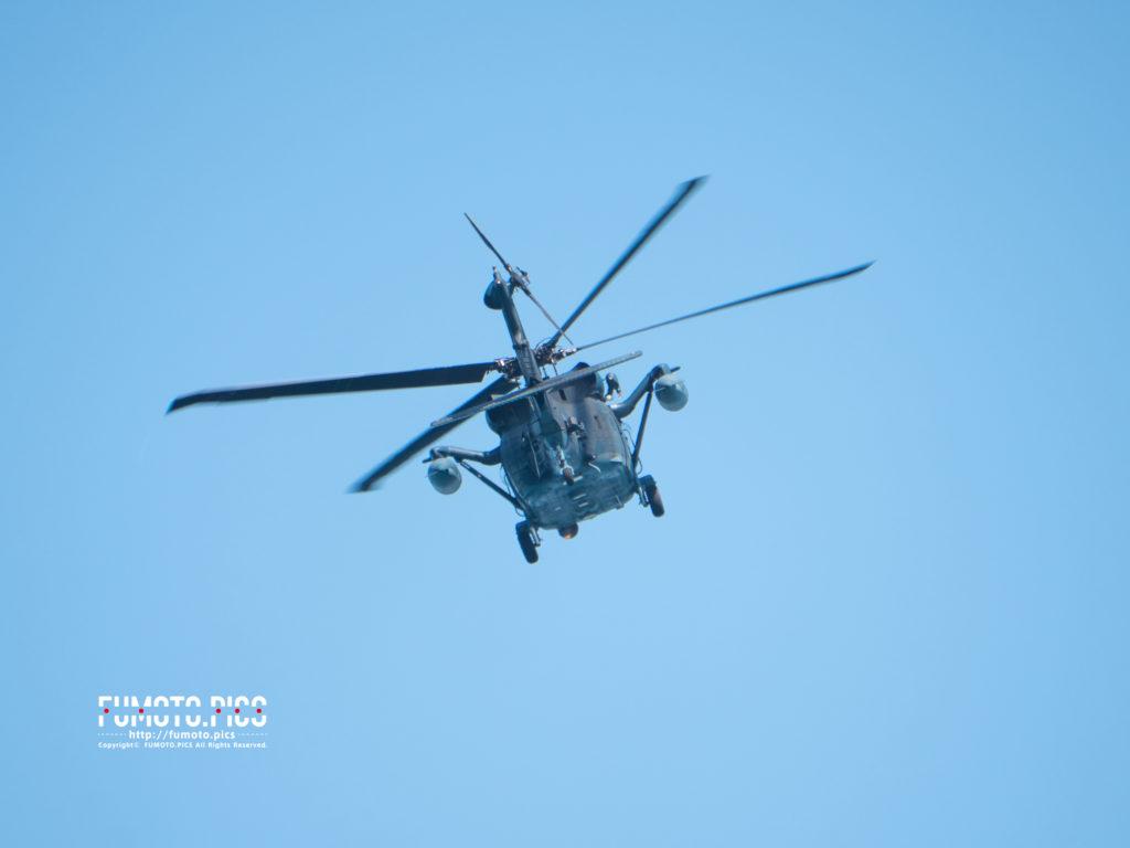 任務を終えたUH-60J