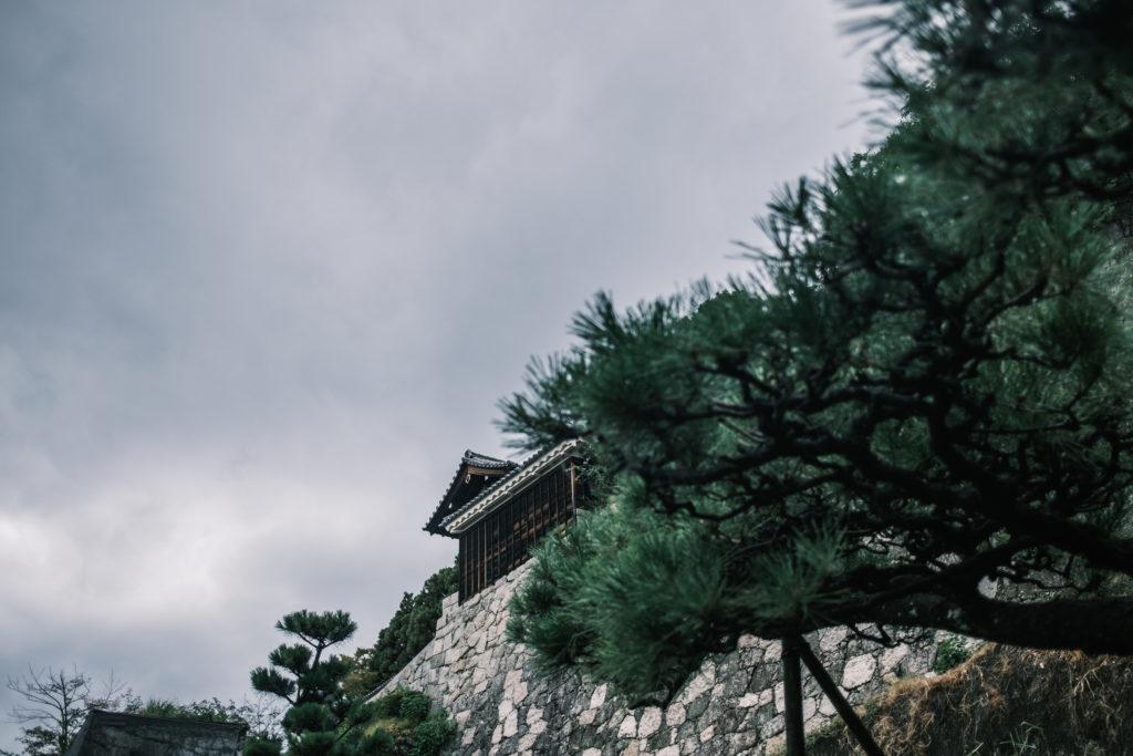 二之丸史跡庭園の石垣