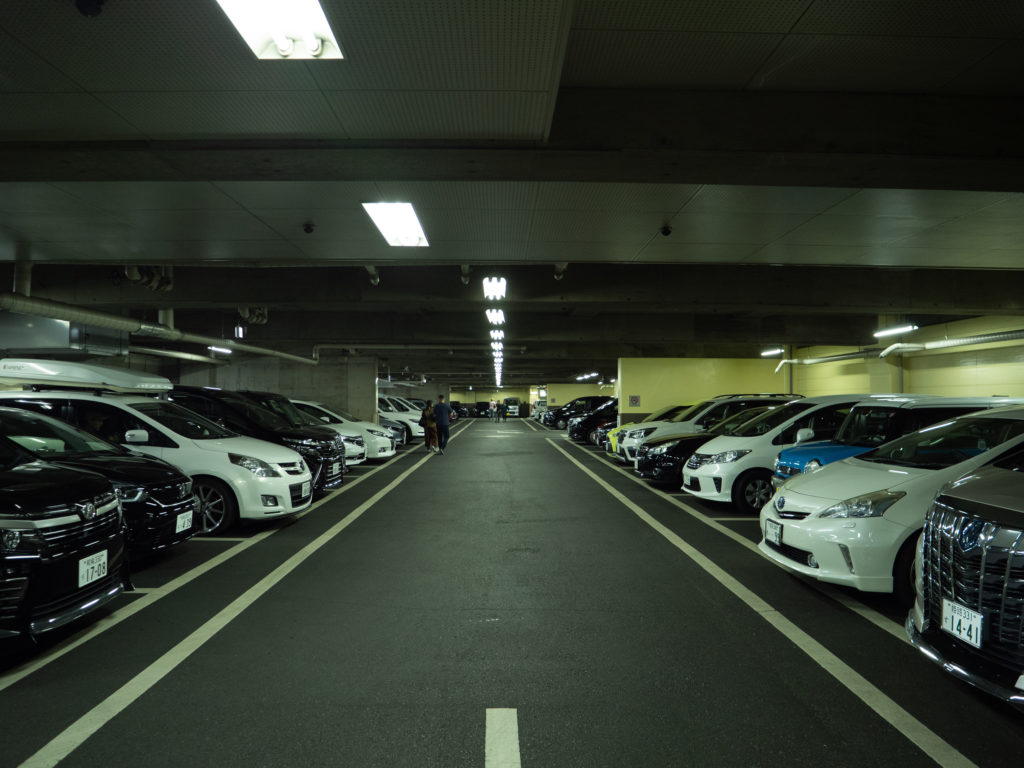 倉敷市市営中央駐車場