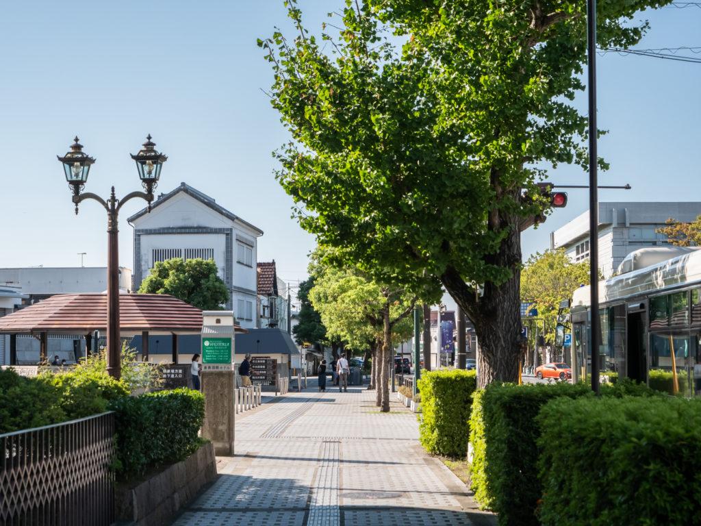 倉敷市の通り