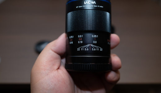最大投影倍率2倍!LAOWA 50mm F2.8 2X ULTRAMACRO APOファーストインプレッション