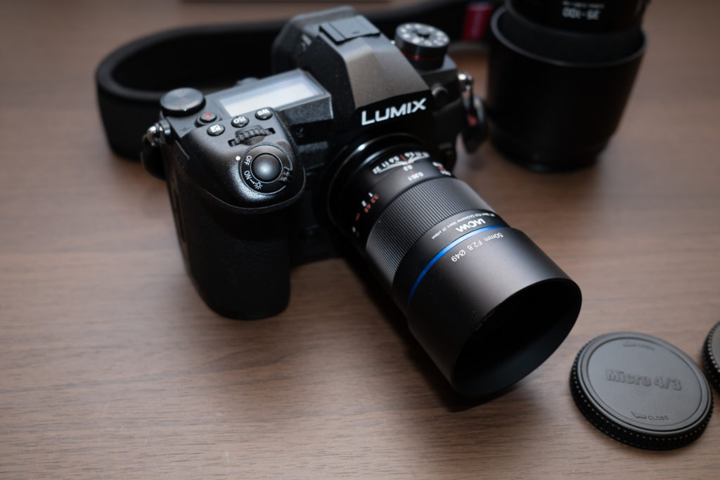 G9にLAOWA 50mm F2.8 CA-Dreamer Macro 2×を装着