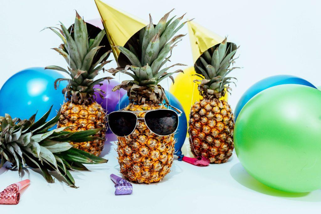 パイナップルパーティーの写真